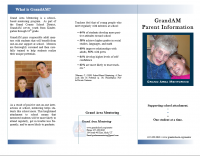 Parent Brochure